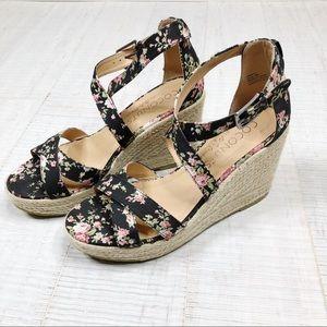 Coconut by Matisse Grace Floral sandal espadrille